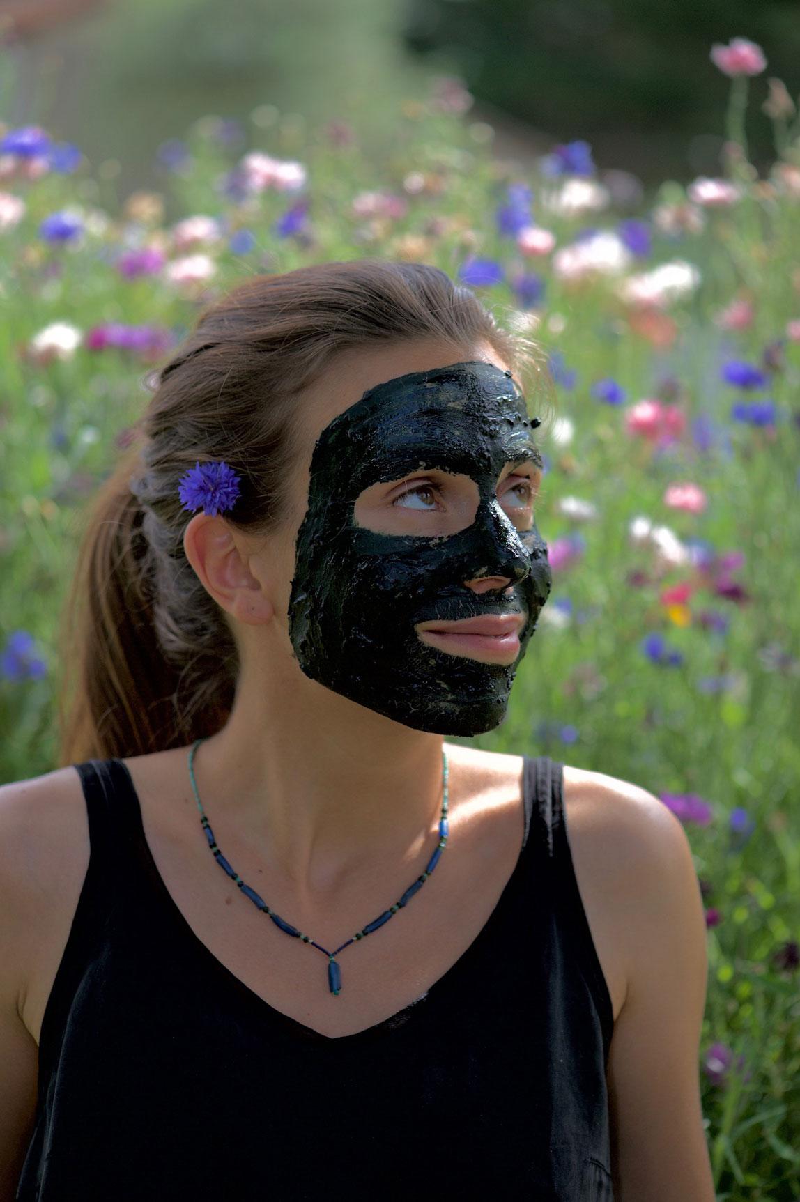 """Masque pour la peau """"la belle verte"""""""